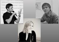 На фото: П. Диденко, О. Акукина и А. Абдулнасыров.