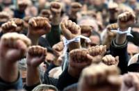 Митинг в Грузии