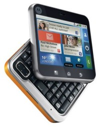 Motorola FLIPOUT — необычный Android