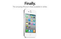 Белый iPhone 4 теперь официально продаётся в России