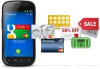 Google заменяет кошельки смартфонами