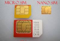 nanoSIM-карты будут доступны всем