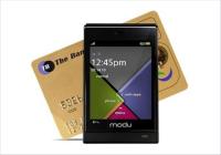 Modu T — самый лёгкий сенсорный телефон