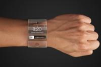 Часы из изогнутого стекла от Apple