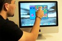 Сенсорный дисплей в iMac © notik.ru