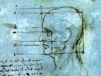 Фото: «Пропорции головы» - Leonardo da Vinci