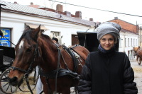 Конь и Ольга Зацепина