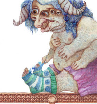 Матерый демон Асмодей