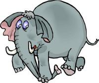 Потрясающей слон Мартин- он умеет превращать ...Нет! Ничего не скажу! Слушайте!