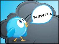 "Хэштег ""No89417-6"" лидирует вроссийских трендах Twitter (155)"