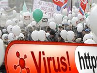 Компьютерный вирус охотится напротивников Путина (75)