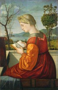 Витторе Карпаччо. Мадонна читающая. 1505