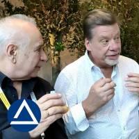 Вадим Лапидус и Клаес Берлин