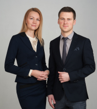 Александра Терещенко и Алексей Колпаков в программе Андрея Шаркова