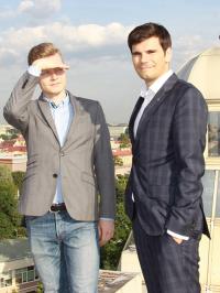 Владимир Мланчик и Артём Денисов
