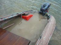 Пьяный котельничанин на лодке врезался в паром