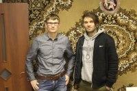 На фото сам Дмитрий Порубов и ведущий Алексей Бершацкий. Запечатлела мгновение наш редактор Полина Послова