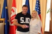 Геннадий Балашов и Яна Матвийчук