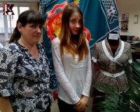 Елена Калабухова и Маруся Никитина (соведущая).