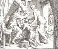 Иаков обманывает папу