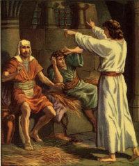 Иосиф в тюрьме