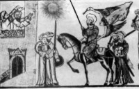 Мухаммед осаждает крепость